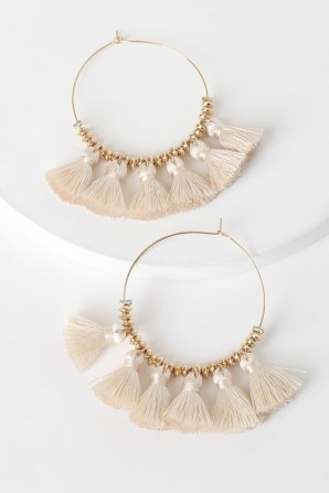 https://www.lulus.com/products/a-royal-touch-gold-and-cream-fringe-hoop-earrings/1148731.html